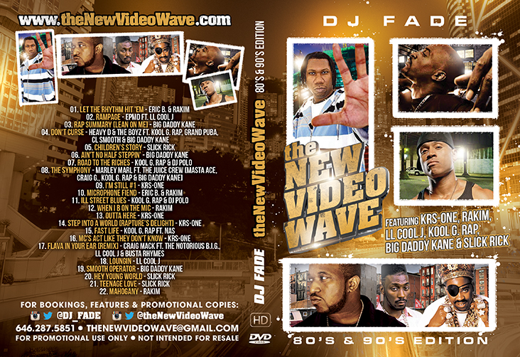 theNewVideoWave [80's & 90's Edition] - Cover Small