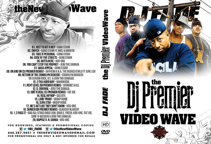 DJ Premier VideoWave - DVD
