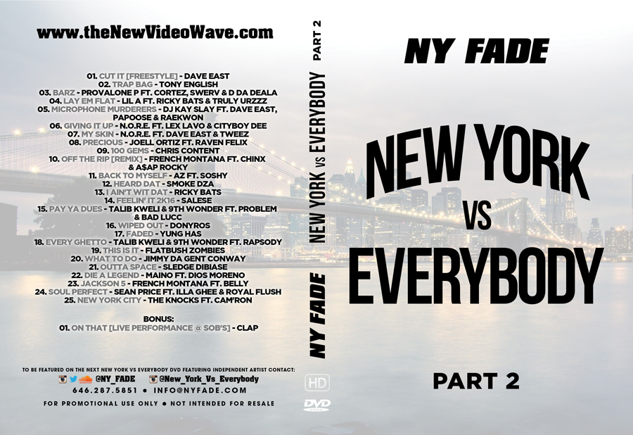 New York Vs Everybody [Part 2] - Web Cover