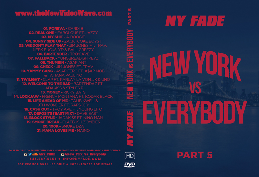 New York Vs Everybody [Part 5] - Web Cover