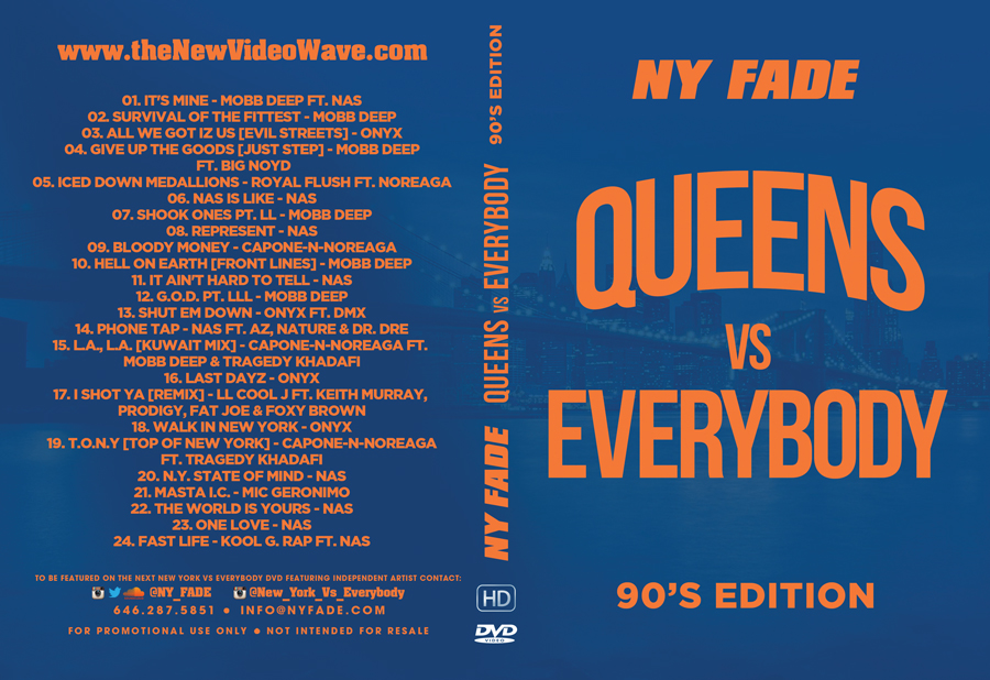Queens Vs Everybody [90's Edition] - Web Cover